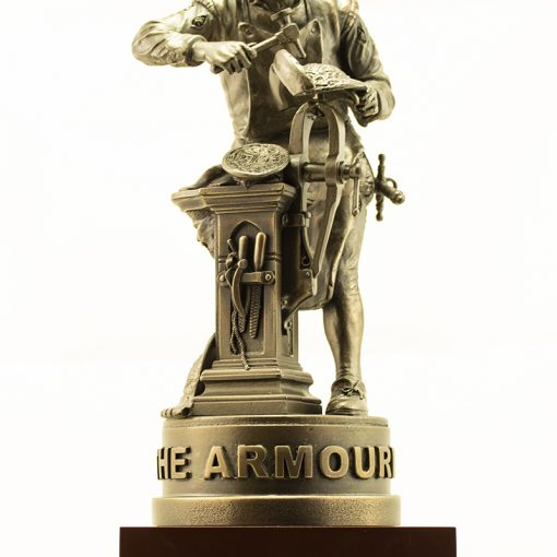 The Armourer Statue - Front View