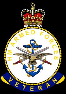 HM Armed Forces Veterans Badge