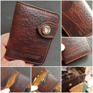 Hand made leather merchandise
